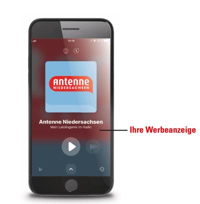 App Antenne Niedersachsen