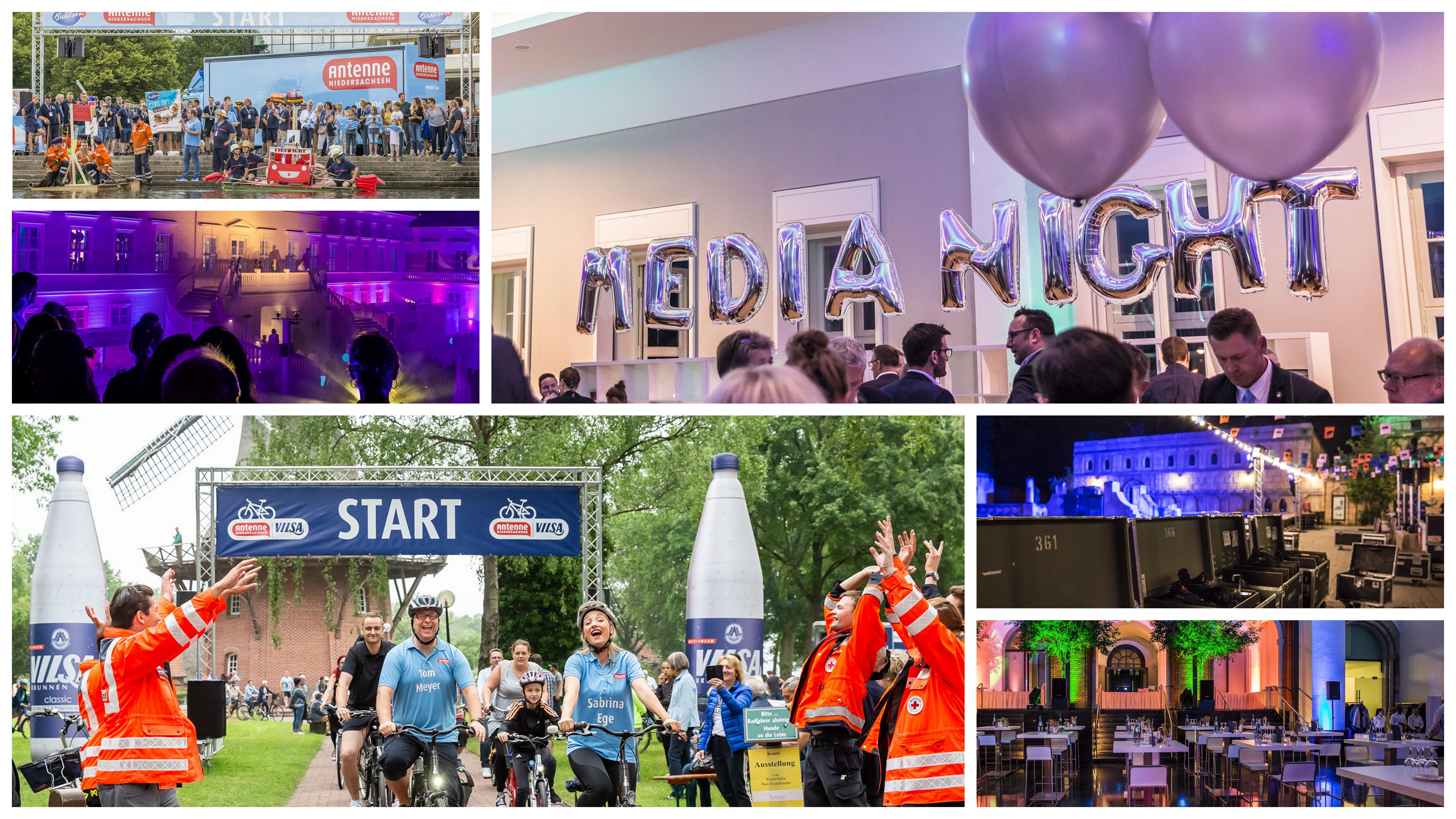 Promotion und Events von und mit Antenne Niedersachsen