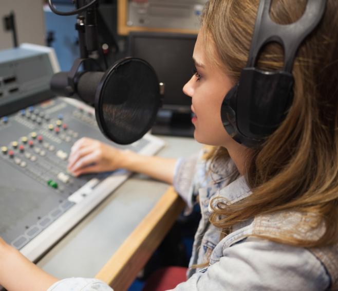 Radio Produktion Motiv erstellen
