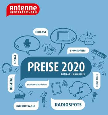 Preisliste 2020